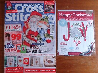 The World of Cross Stitching Issue 236 + Free Gift