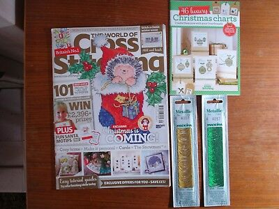 The World of Cross Stitching Issue 235 + Free Gift