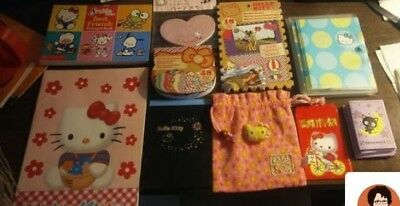 Hello Kitty stationary lot. Scrapbooking, note cards, postcards, note pads