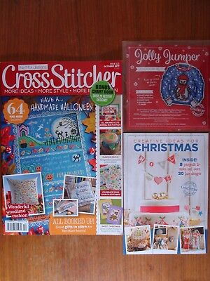 Cross Stitcher Issue 323 + Free Gifts