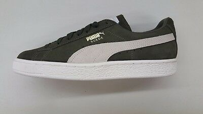 Puma Suede Classic + Olive Night Birch Gold Mens Size Sneakers 363242-27 fb75a2344