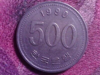 South   Korea   500  Won  1990      Sept18