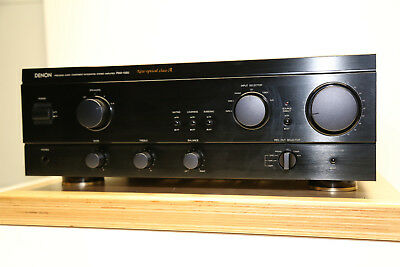 Denon PMA-1060 Stereo Amplifier New Optical Class-A von USA 120Volt in Schwarz