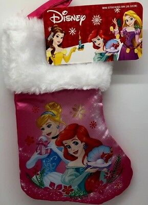 disney princess girls christmas 6 stocking - Girls Christmas Stocking