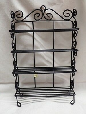 Dollhouse Miniature Baker's Rack, Large - Vintage