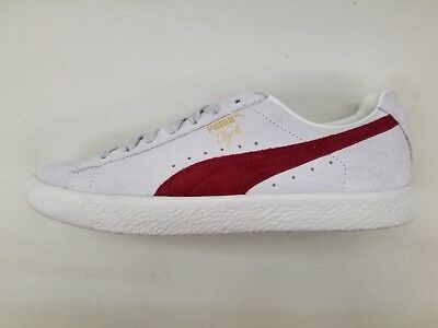 wholesale dealer fc401 62fc0 PUMA CLYDE FROM The Archive Cream Off White Cherry Mens Size Sneakers  365319-01