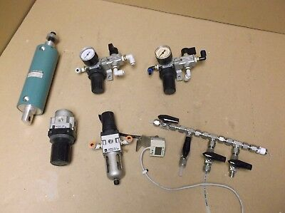 LOT 3 SMC Pneumatic Cylinders 40mm Cyl Air 1-1/2 BORE