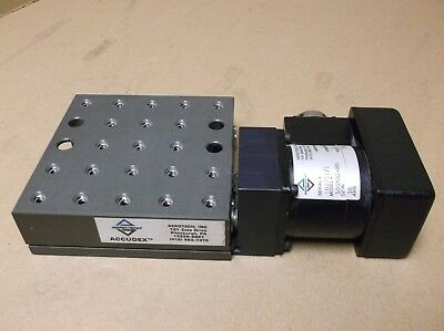 Aerotech Accudex ATS03005U5 Linear Stage with Stepper Motor 50SMB2-HM