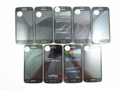 Lot of 9 Parts & Repair Samsung Galaxy Avant G386T T-Mobile Check IMEI PR 3-402