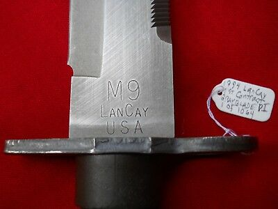 RARE 1994 LANCAY PI Grey Blade M9 Fighting Knife 1 of 1064 Produced 1st Contract