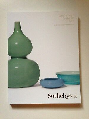 Sotheby's Catalog Important Chinese Art Sept. 13, 2017