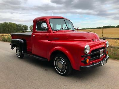1953 Dodge step side pick up,recently restored in the US.