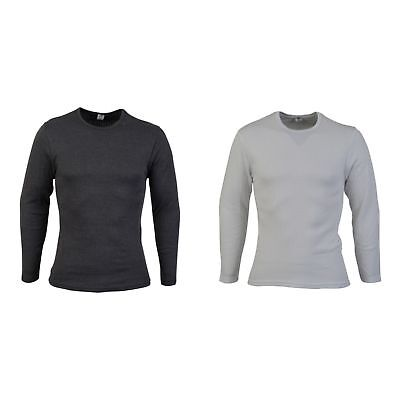 Absolute Apparel Mens Thermal Long Sleeve T-Shirt (AB122)