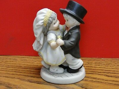 ENESCO KIM ANDERSON You've Danced Into My Heart FIGURINE WITH BOX