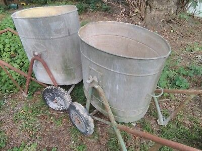Galvanised Swinging Water Tubs