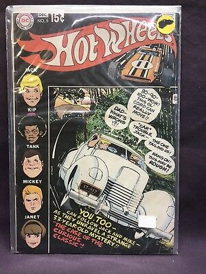Hot Wheels DC Comic #5 Dec. 1970