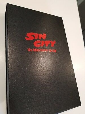 Sin City 10th Anniversary Edition Frank Miller Numbered 159/500 Signed, New