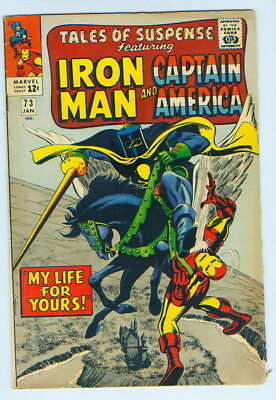 January 1966 Tales Of Suspense Iron Man Captain America No. 73 Comic Book