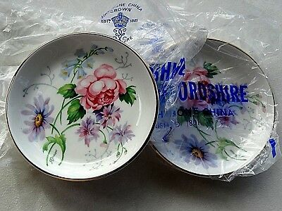 NEW in PACKING 2X Crown Staffordshire. Coasters