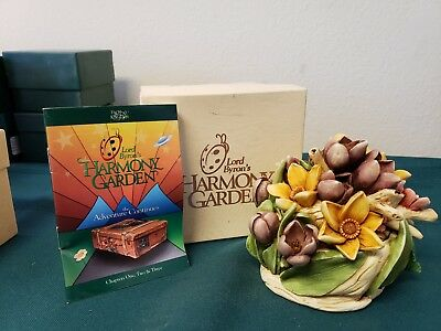 Lord Byron Harmony Garden Easter Bouquet Carved Flower Treasure Chest Box Ltd Ed