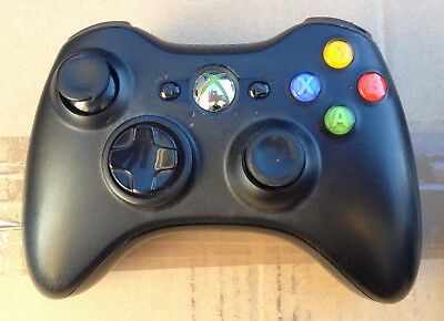 Microsoft Xbox 360 official wireless Controller, with battery pack & cable