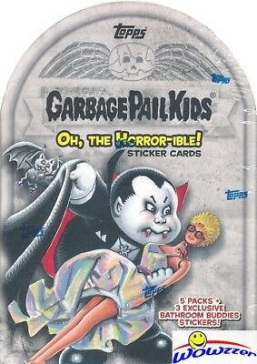 2018 Topps Garbage Pail Kids Series 2 OH THE HORROR-IBLE EXCLUSIVE Blaster Box !