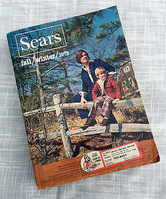 Sears Catalog 1975 Fall Winter Vintage Pg 602 Controversy 70s Style Collectible