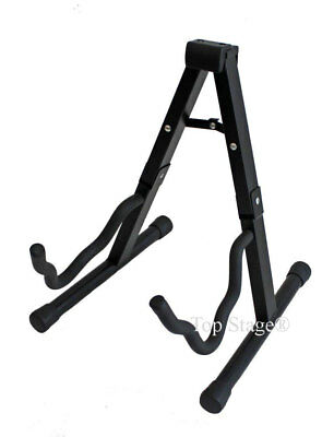 Guitar Folding Stand for Acoustic and Electric Guitar Hanger, Floor Stand