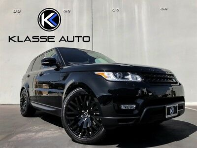 Range Rover Sport HSE 2016 Land Rover Range Rover Sport HSE SUV V6 Supercharged Warranty 1 Owner Wow