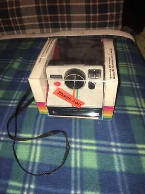 Polaroid One Step Rainbow SX-70 Land Camera Instant Camera In Package