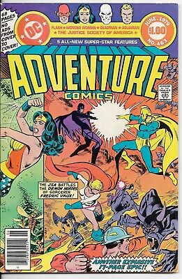 1979 Adventure Comics Wonder Woman Dc Comic Book Bag/board Rare Vintage L@@k