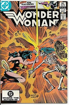 1983 Wonder Woman Issue #301 Dc Comic Book Bag/board Rare Vintage L@@k