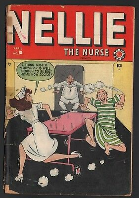 Nellie The Nurse #18 Marvel Timely Comics 1949 Only One On Ebay!