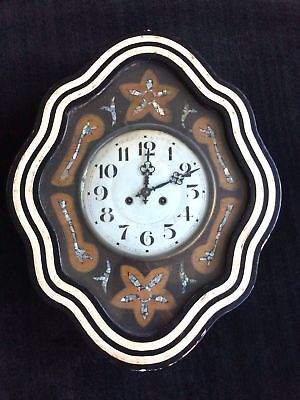 Antique French Baker's Wall Clock
