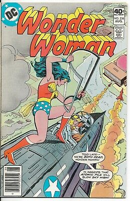 1979 Wonder Woman Issue #258 Dc Comic Book Bag/board Vintage Rare