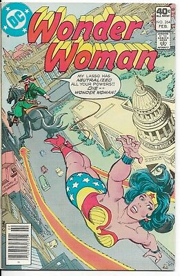 1980 Wonder Woman Issue #264 Dc Comic Book Bag/board Vintage Rare