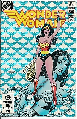 1983 Wonder Woman Issue #304 Dc Comic Book Bag/board Vintage Rare