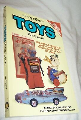 Antique Trader Toys PG PB Book-Kyle Husfloen, editor-262 pages-2001