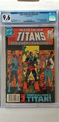 Tales of the Teen Titans #44 CGC 9.6 NM+  WHITE   1st Appearance Nightwing