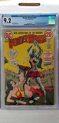 Wonder Woman #204 CGC 9.2 NM-   1st Appearance Nubia