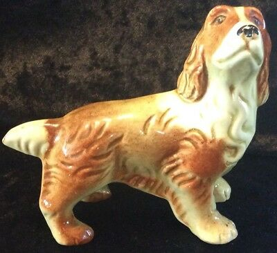 Darbyshire Made In Australia Rare Dog Figurine 4 Inches Tall 4.5 Inches Long