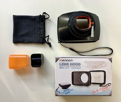 Moondog Labs 1.33X ANAMORPHIC LENS FOR IPHONE 6S / 6S+ Excellent Condition