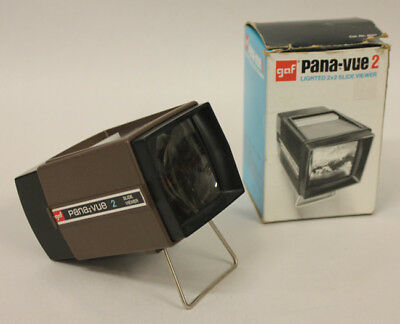 GAF Pana-Vue 2 Slide Viewer with Box