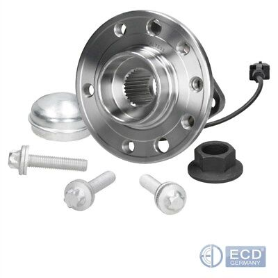 Front Axle Wheel Bearing Kit + Hub Assembly + Abs Sensor Fiat Croma 194 1.8-2.4