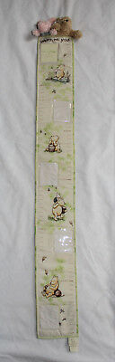 Disney Classic Winnie the Pooh Plush GROWTH HEIGHT CHART Watch Me Grow Piglet
