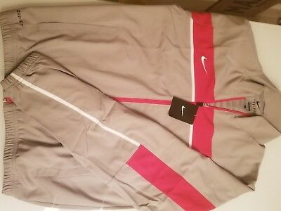 Nike Dri Fit Grey and Red Jacket