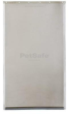Extra Large Flap Freedom Replacement Pet Door Premium Aluminum Dog Cat Safe XL