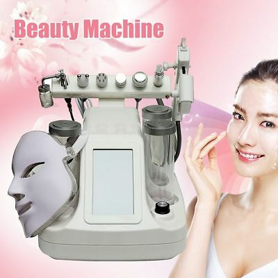 8 in 1 Hydra Dermabrasion Aqua Peel Clean Skin Care BIO Light RF Beauté Machine