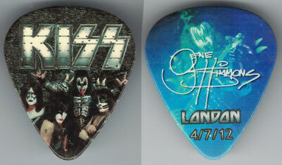 Kiss-2012-One Show-Only City Guitar Pick-Gene Simmons-London, England!