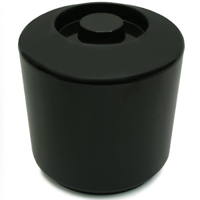 Round Insulated Ice Bucket Black 4ltr